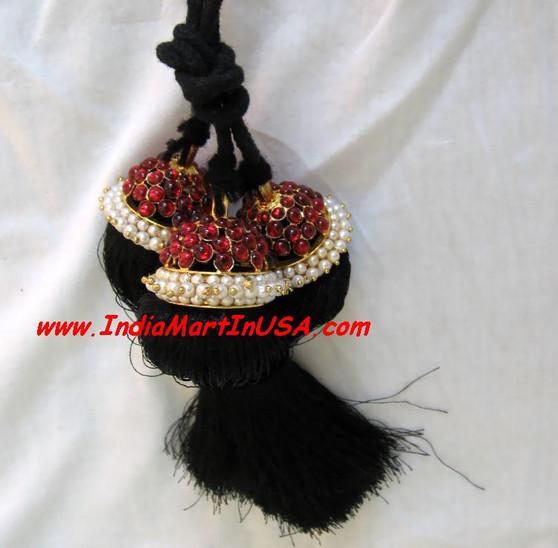 Hair Kunjalam Temple Jewelry Medium 3 line
