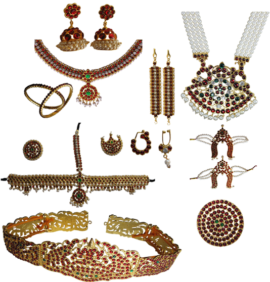 Professional Temple Jewelry Set PRO86