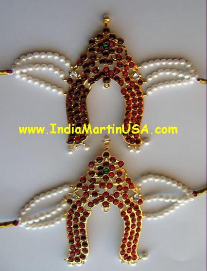 Vanki or Bajuband Imitation Bharatanatyam Jewelry VK86