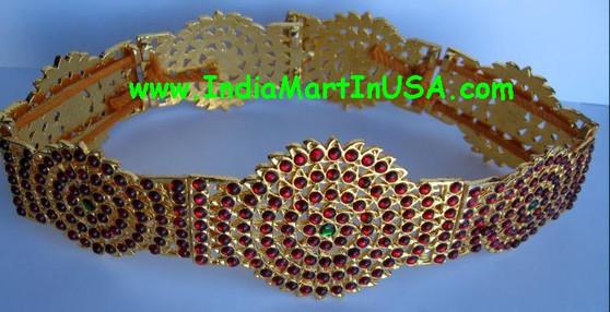 Oddiyanam Imitation Temple Jewelry Belt OD75
