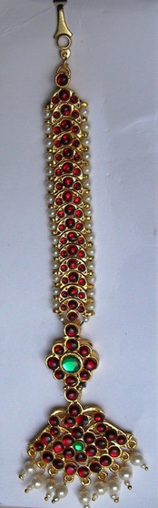 Tika Imitation Temple Jewelry Moon Nettichutti