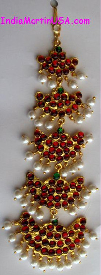 Tika Imitation Temple Jewelry 5 step Nettichutti