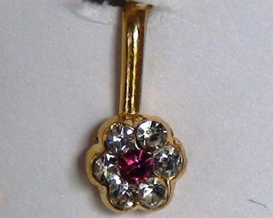 Stone Jewelry Nose Stud 1 Piece 8762