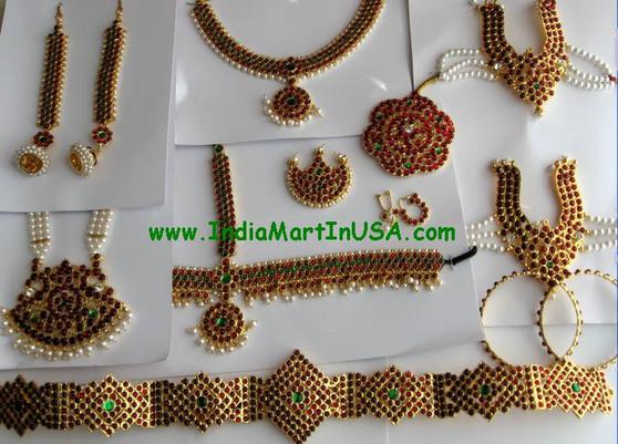 Dance Jewelry set Traditional Temple Jewelry GRN75