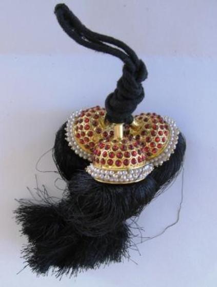 Hair Kunjalam Imitation Temple Jewelry Big 4 line
