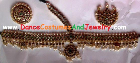 Imitation Temple Jewelry Head set GRNV75