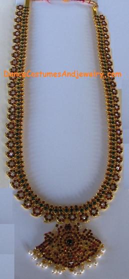 Long Manga Mala Imitation Temple Jewelry ITJ1031