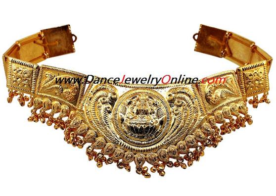 Golden Lakshmi Belt for Indian classical dance