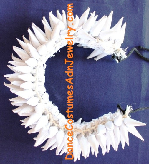 Hair Flower for Bharatanatyam and kuchipudi dance White round
