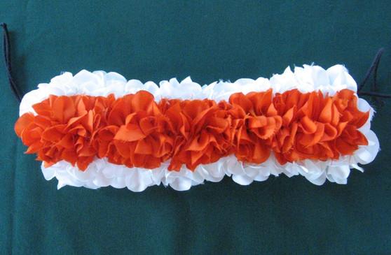 Cloth Hair Flower for Bharatanatyam and kuchipudi dance WO34CL