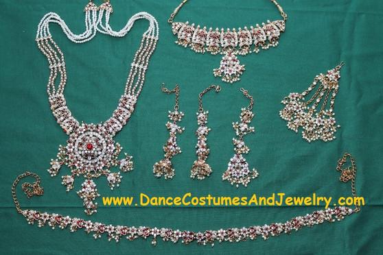 Kathak dance Jewelry set