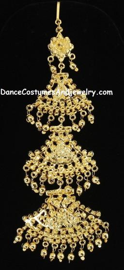 Tika Mohiniyattam Jewelry step Nettichutti
