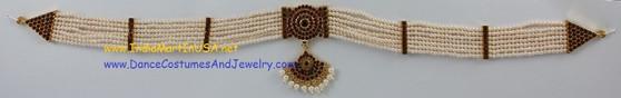 Artificial pearl oddiyanam Jewelry belt