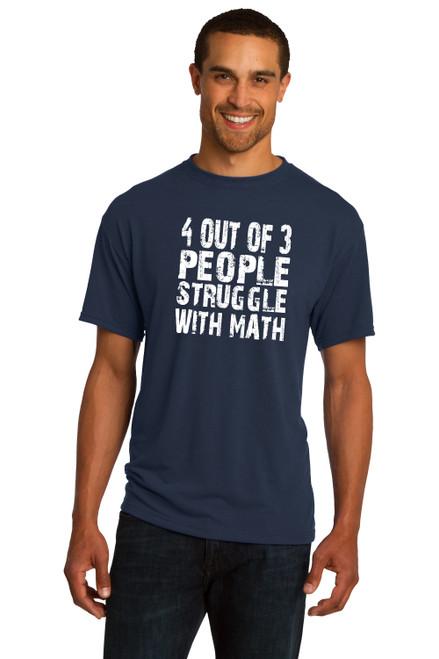 People Struggle Math T Shirt