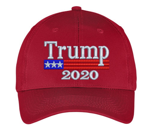 Trump 2020 Election - PRESIDENT - 6 PANEL embroidered Hat/Cap