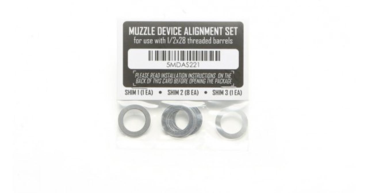 PWS - Muzzle Shim Set