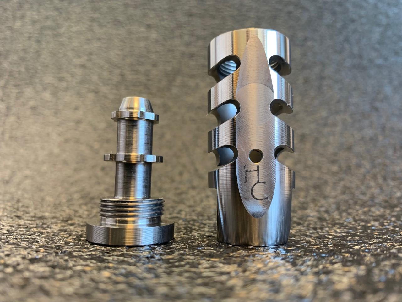 Highland Canyon Cronus  6.5 Muzzle Brake