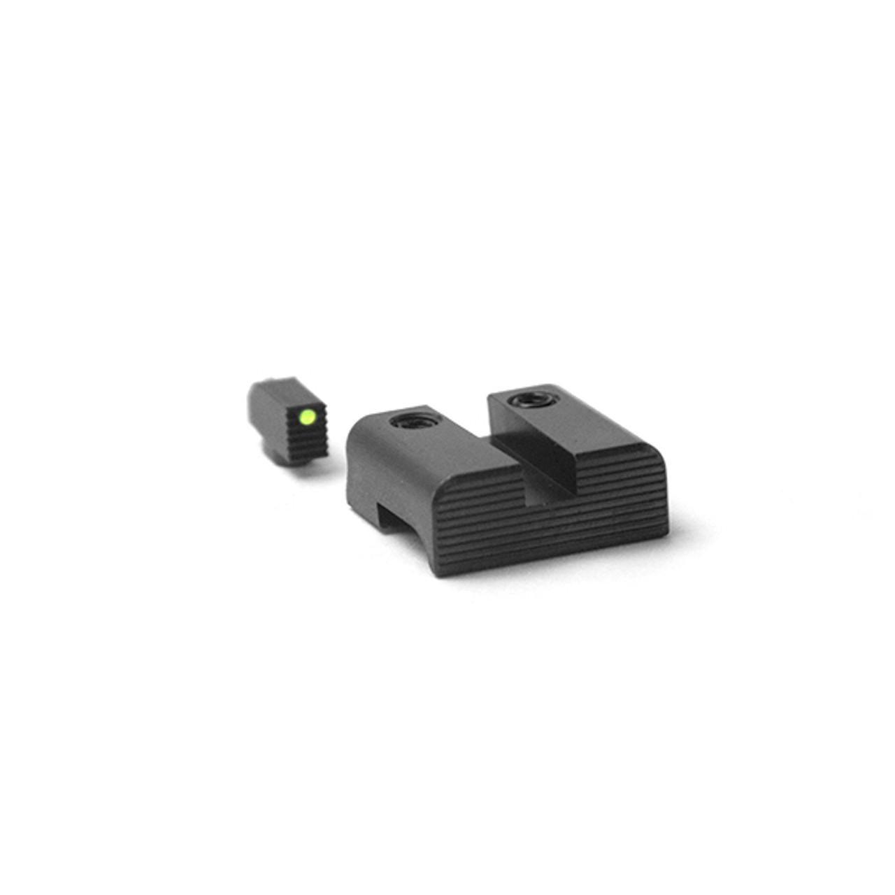 Henning - Battle Hook Fiber Front & Black Rear Sight Set