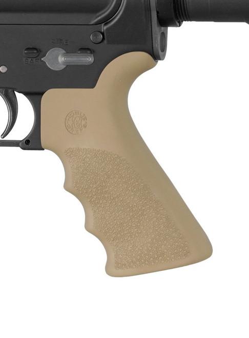 Hogue - AR15 Overmolded Grip with Beavertail FDE