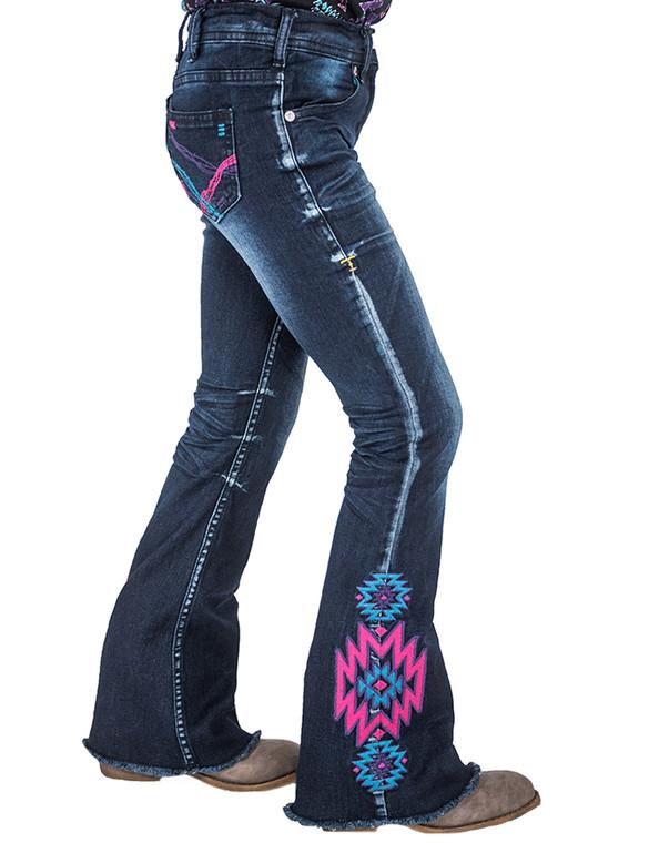 Girl's Aztec Rocks Trouser