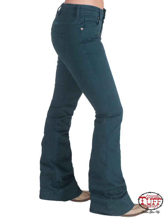 Turquoise Trouser