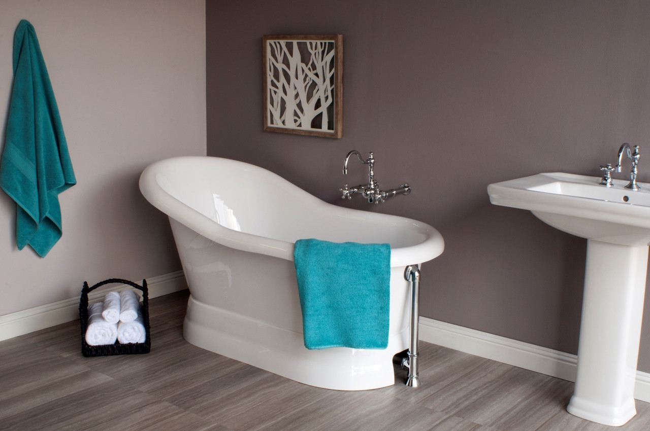 Picture of: The Madrone 5 Acrylic Slipper Pedestal Tub Strom Living