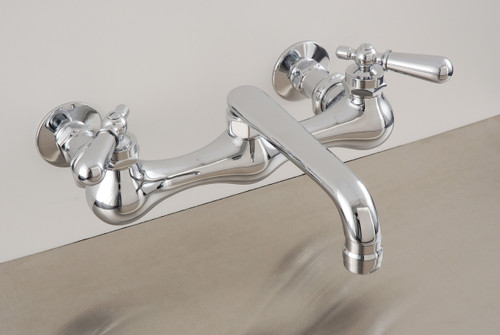 """8"""" Wall Mount Kitchen Faucet"""