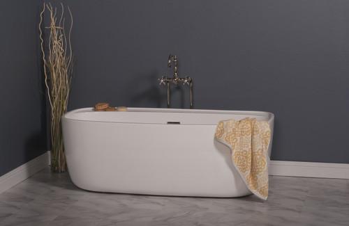 """The Jenny, 60"""" Acrylic Tub"""