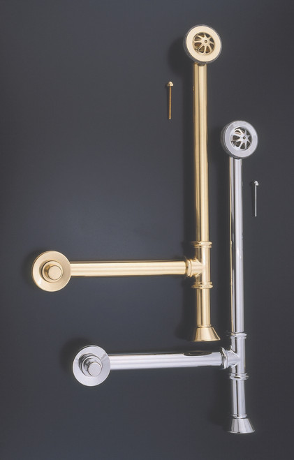 In Chrome & Supercoated Brass