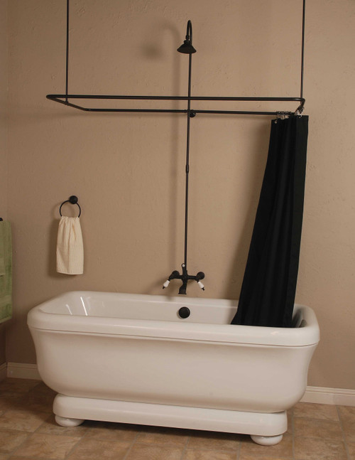 Side-Wall Mount Shower Enclosure Set