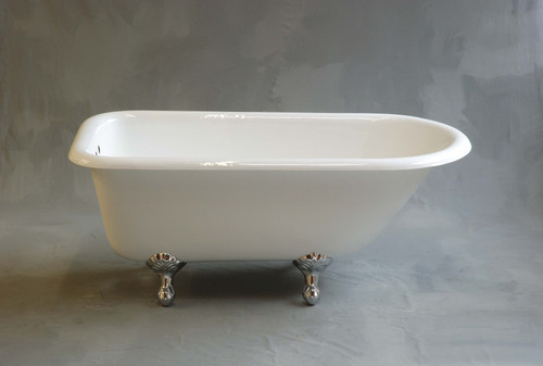 The Geneva 5' Freestanding Cast Iron Tub