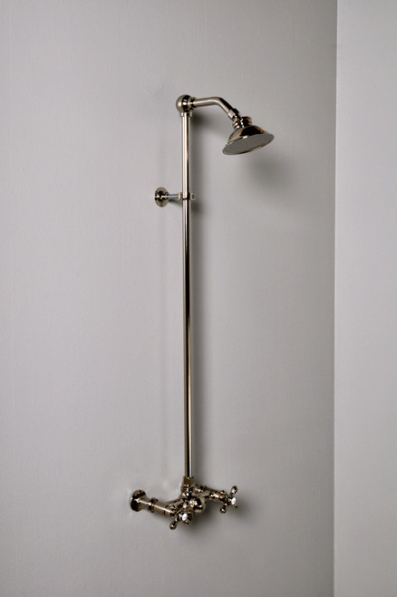 P1096 Exposed Wall Mount Shower Set