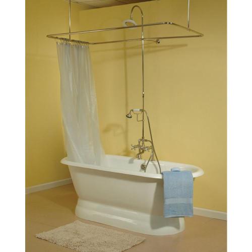 P0771 Side Mount Shower Enclosure Set