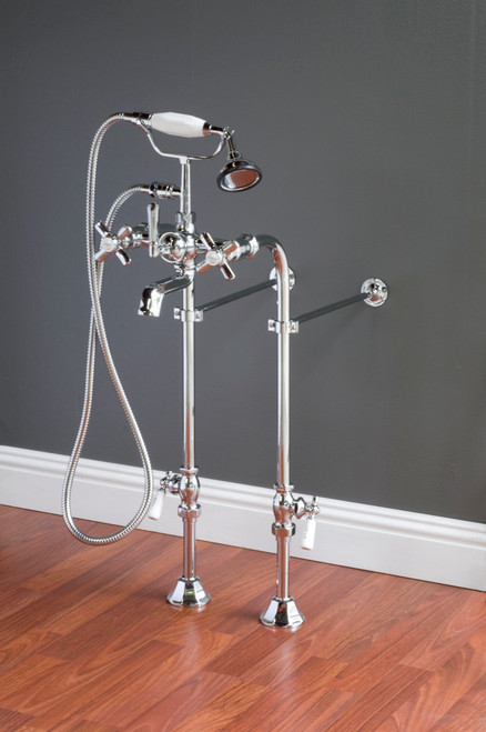 P1000-28 Faucet & Over The Rim Supply Set Kit