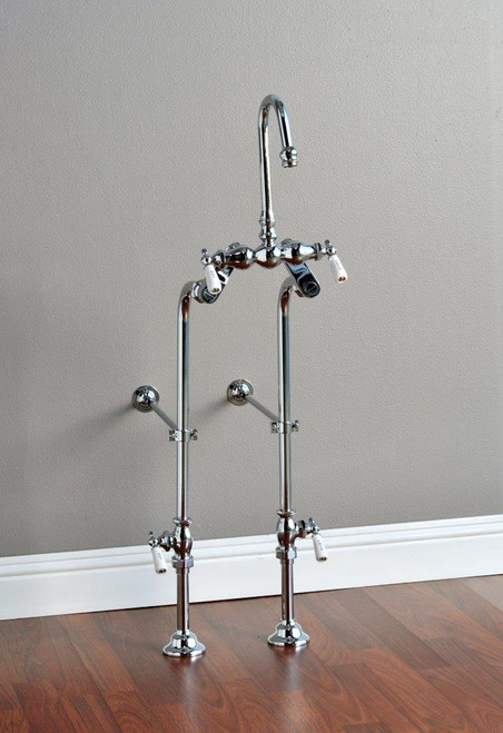 P1129 Faucet & Over the Rim Supply Set Kit