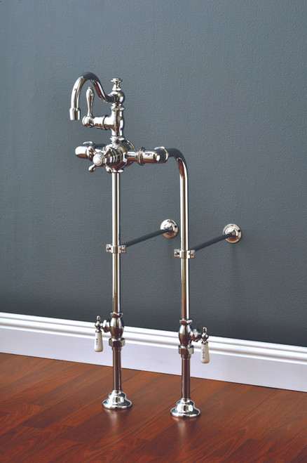 P1140 Faucet & Over The Rim Supply Set Kit