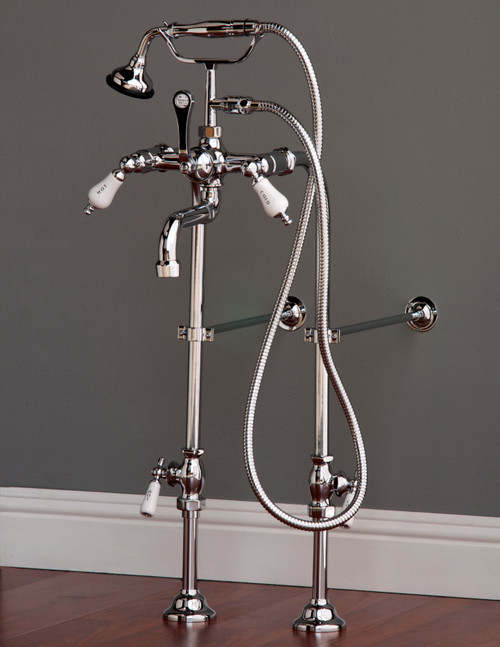 P1083 Faucet and Freestanding Supply Lines Kit