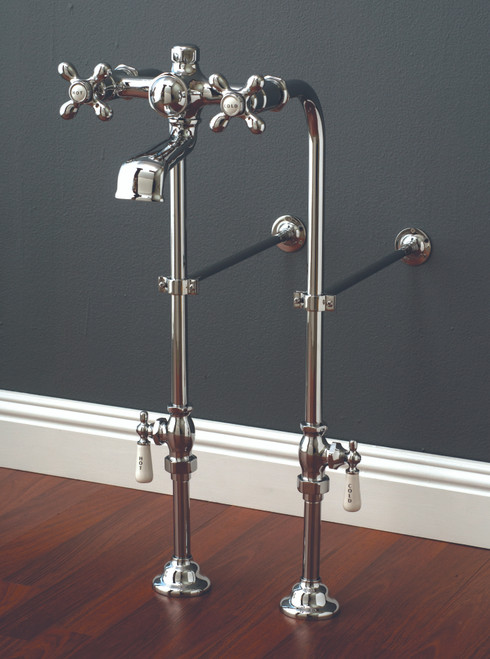 P1136 Faucet and Freestanding Supply Lines Kit