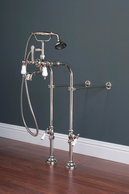 P0973 Faucet and Freestanding Supply Lines Kit