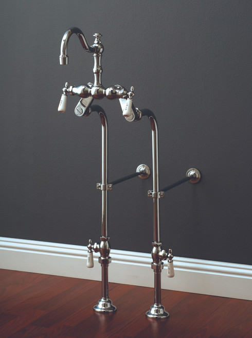 P1142 Faucet And Over The Rim Supply Set Kit