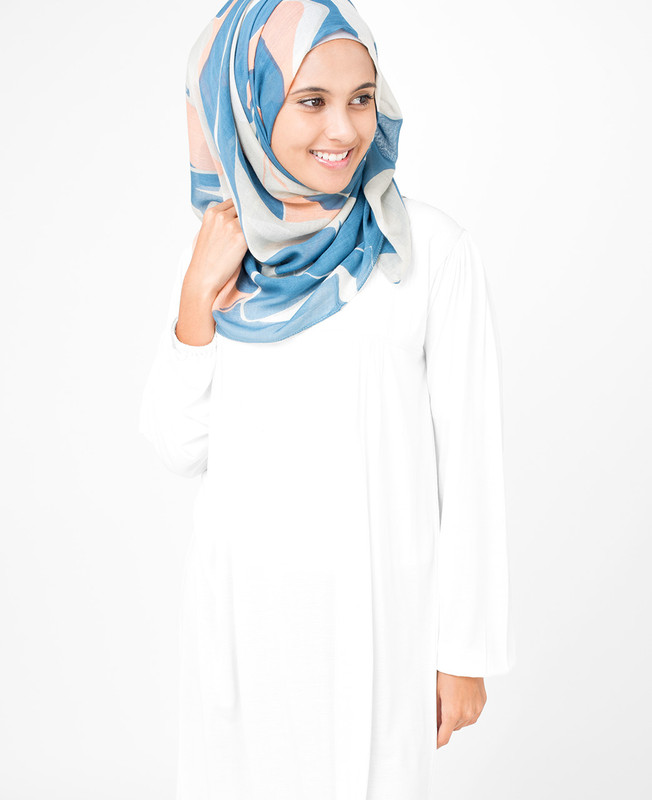 Barely Blue Hijab