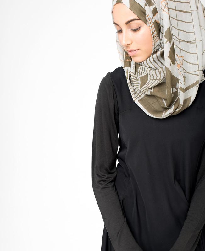 Pine Bark Hijab