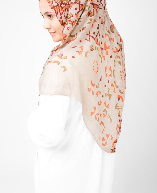 Bone Brown Hijab