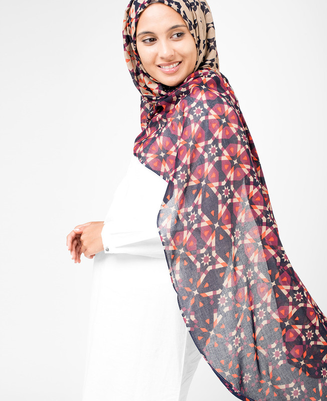 Eclipse Beige  Hijab