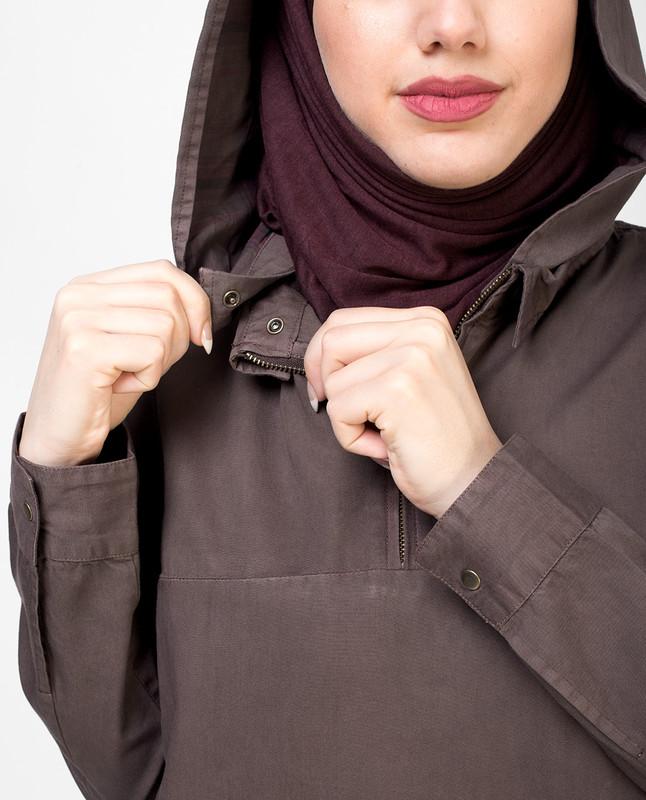 Convertible Hem Jilbab
