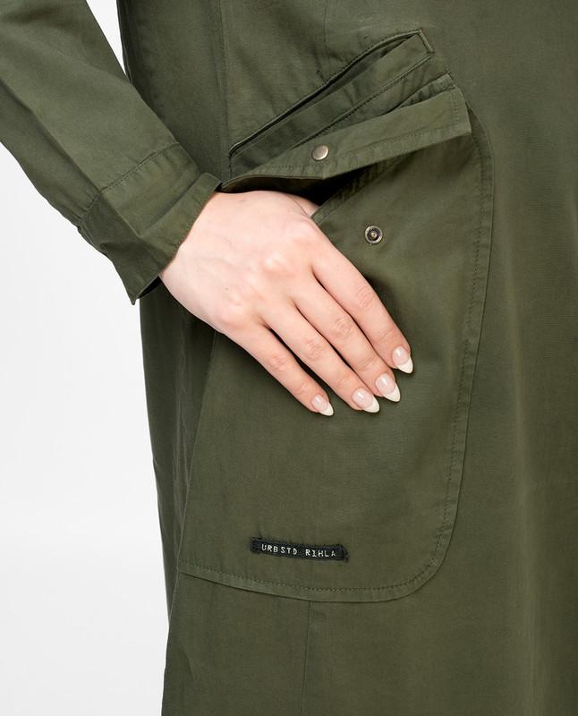 Dark Moss Green Jilbab