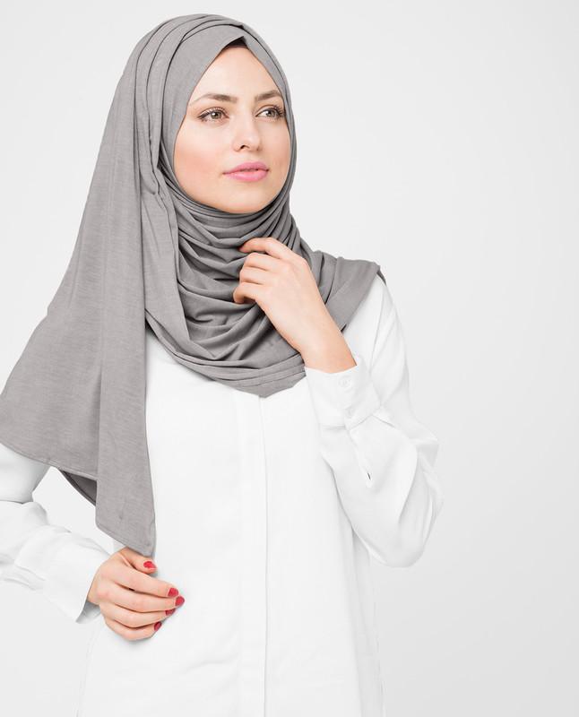 Ash Viscose Jersey Hijab