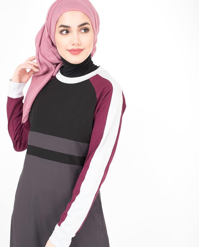 Modest Berry Jilbab