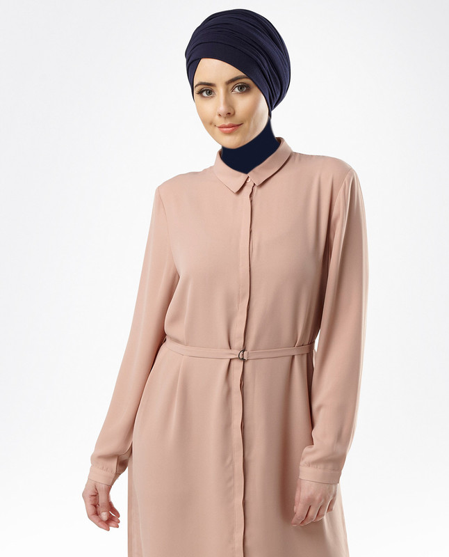 Sahar Blush Midi Dress