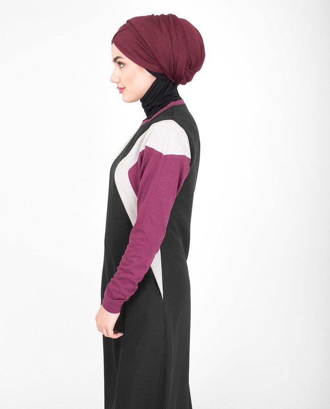Colorful jilbab abaya
